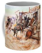 Russell Cowboy Art, 1909 Coffee Mug