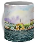 Russia Saint Petersburg Neva River Coffee Mug