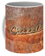 Rusted Antique Chevrolet Logo Coffee Mug