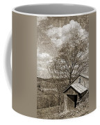 Rustic Hillside Barn Coffee Mug
