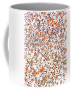 Rustic Red Abstract Coffee Mug