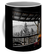 Rustic View Of The Great Outdoors Coffee Mug