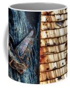 Rusting Boat Anchor Coffee Mug