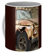 Rusty Ford Coffee Mug by Luke Moore