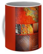 Rusty Metal Canvas Coffee Mug