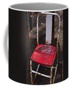 Rusty Metal Chair Coffee Mug