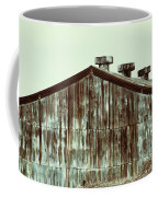Rusty Tin Factory Building Coffee Mug