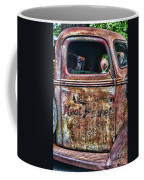 Rusty Truck Door Coffee Mug