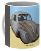 Rusty V.w. Bug Coffee Mug