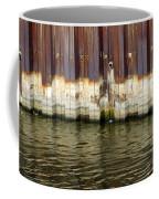 Rusty Wall By The River Coffee Mug