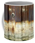 Rusty Wall In The City Coffee Mug