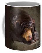 Sad Sun Bear Coffee Mug