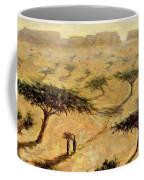Sahelian Landscape Coffee Mug by Tilly Willis