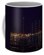 Sailboat And Maltese Hawk Coffee Mug