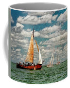 Sailboats In The Netherlands By The Zuiderzee Coffee Mug