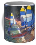 Sailboats South Of France Coffee Mug