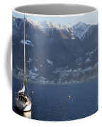 Sailing Boat On A Lake Coffee Mug