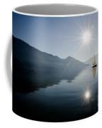 Sailing Boat On The Lake Coffee Mug
