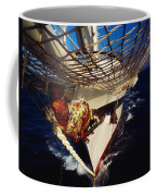 Sailing, Figurehead On The Prow Of A Coffee Mug