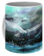 Sailing Over The Sea Coffee Mug