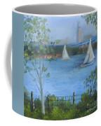 Sailing The Delaware Coffee Mug