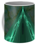Sailing The Electric Green Sea Coffee Mug