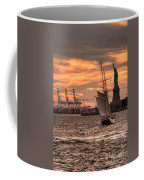 Sailing To Liberty  Coffee Mug