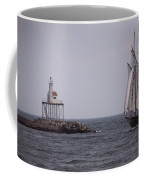 Sailing Vessel Entering Gloucester Coffee Mug