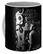 Sailor At Work In The Electric Engine Coffee Mug