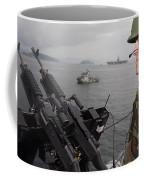 Sailor Mans A .50-caliber Machine Gun Coffee Mug