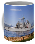 Sailors Aboard The Guided-missile Coffee Mug