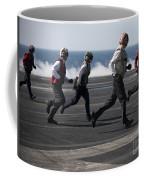 Sailors Clear The Landing Area Coffee Mug