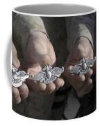 Sailors Display Their Fleet Marine Coffee Mug