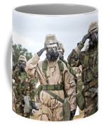 Sailors Dressed In Full Mission Coffee Mug