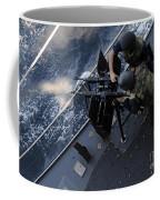 Sailors Fire A Dual-mounted M240 Coffee Mug