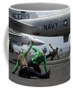 Sailors Give Launch Approval For An Coffee Mug
