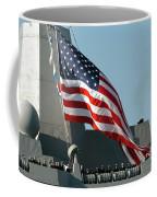 Sailors Man The Rails Of The Amphibious Coffee Mug