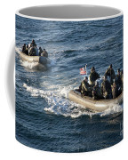 Sailors Participate In A Visit, Board Coffee Mug