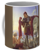 Saint Martin And The Beggar Coffee Mug