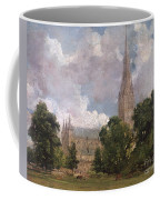 Salisbury Cathedral From The South West Coffee Mug