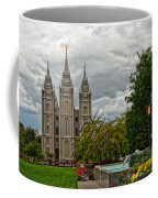 Salt Lake City Temple Grounds Coffee Mug