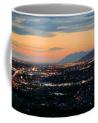 Salt Lake Nightscape Coffee Mug
