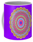 Saltwater Taffy Mandala Coffee Mug