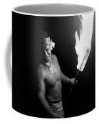 Samoan Chief With Torch Coffee Mug