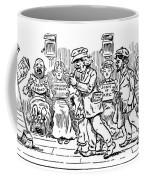 Samuel L. Clemens Cartoon Coffee Mug