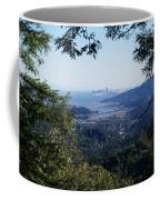 San Francisco As Seen Through The Redwoods On Mt Tamalpais Coffee Mug