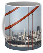 San Francisco Through The Cables Coffee Mug