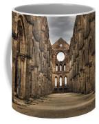 San Galgano  - A Ruin Of An Old Monastery With No Roof Coffee Mug