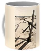 Sand And Fences Coffee Mug