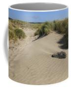 Sand And Grass Dunes Coffee Mug